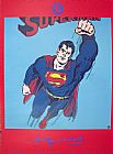 Andy Warhol Superman painting