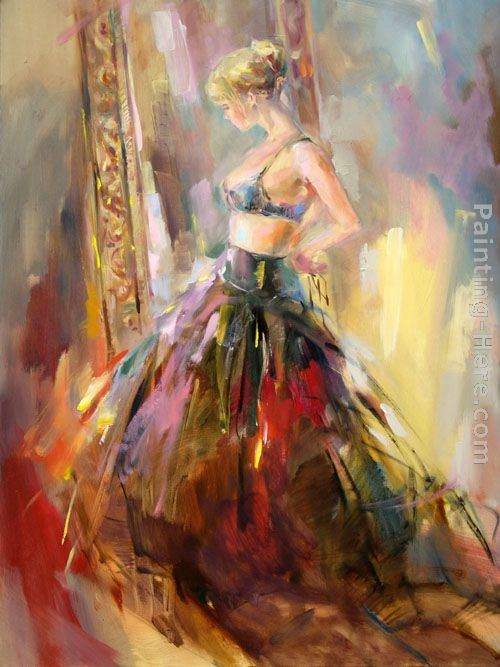 Anna razumovskaya black gown painting framed paintings for Art contemporain russe