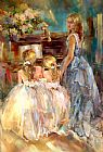 Anna Razumovskaya Canvas Paintings - A Time to Remember