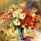Anna Razumovskaya Canvas Paintings - Bright Moments 3