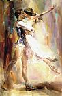 Anna Razumovskaya Famous Paintings - Love Story 2
