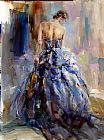 Anna Razumovskaya Famous Paintings - Love Story