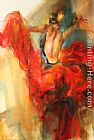 Anna Razumovskaya Wall Art - She Dances In Beauty 3