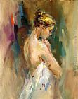 Anna Razumovskaya Wall Art - Silent Prayer