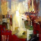 Anna Razumovskaya Sounds of City 1 painting