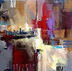 Anna Razumovskaya Sounds of City 2 painting