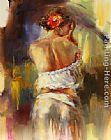 Anna Razumovskaya Spanish Rose painting