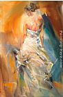Anna Razumovskaya Wall Art - The Night Flower