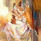 Anna Razumovskaya Famous Paintings - White Note 3
