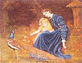 Arthur Hughes Mrs. Grant Duff and Adrian painting