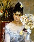 Berthe Morisot At the Ball painting