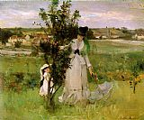 Berthe Morisot Hide-and-Seek painting