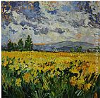 Yellow Wall Art - Yellow Field