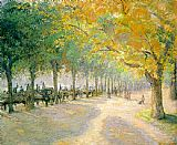 Famous Park Paintings - Pissarro Hyde Park