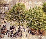 fran Canvas Paintings - Place du Theatre Francais