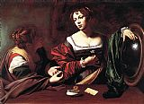 Mary Canvas Paintings - Martha and Mary Magdalene