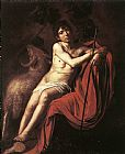 ohn Canvas Paintings - St. John the Baptist 2