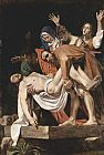 Caravaggio - The Entombment of Christ