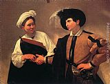 Caravaggio The Fortune Teller I painting