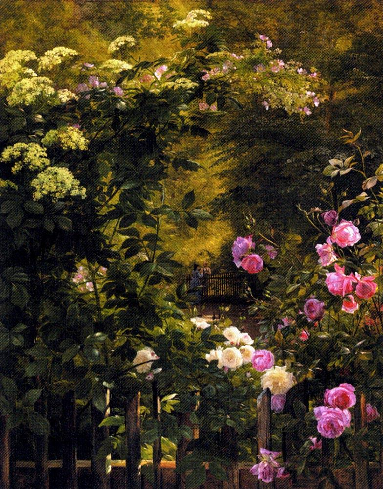 Famous Flower Paintings Famous Garden Paintings Page 3