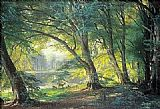 Famous Park Paintings - The Deer Park
