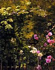 Famous Rose Paintings - The Rose Garden