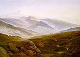 Caspar David Friedrich Riesengebirge painting