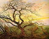 Famous Tree Paintings - The Tree of Crows