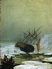 Famous Ice Paintings - Wreck in the Sea of Ice