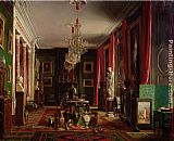 Charles Giraud - Interior of the Office of Alfred Emilien Count of Nieuwerkerke