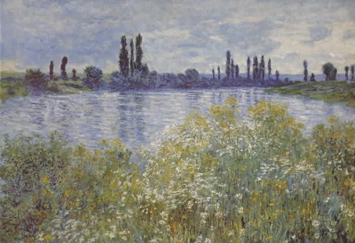 Claude Monet Bank of the Seine V theuil