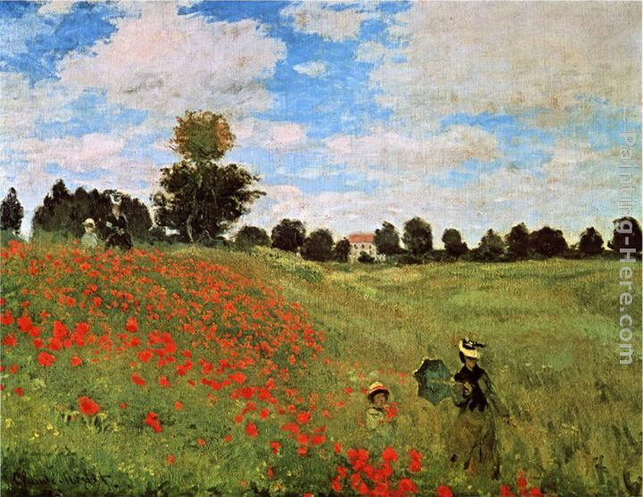 Claude Monet Corn Poppies