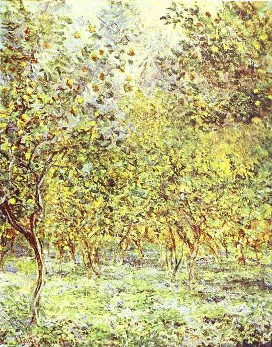 Claude Monet Lemon-Trees Bordighera