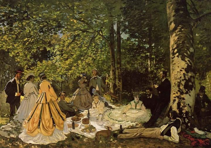 Claude Monet Luncheon on the Grass