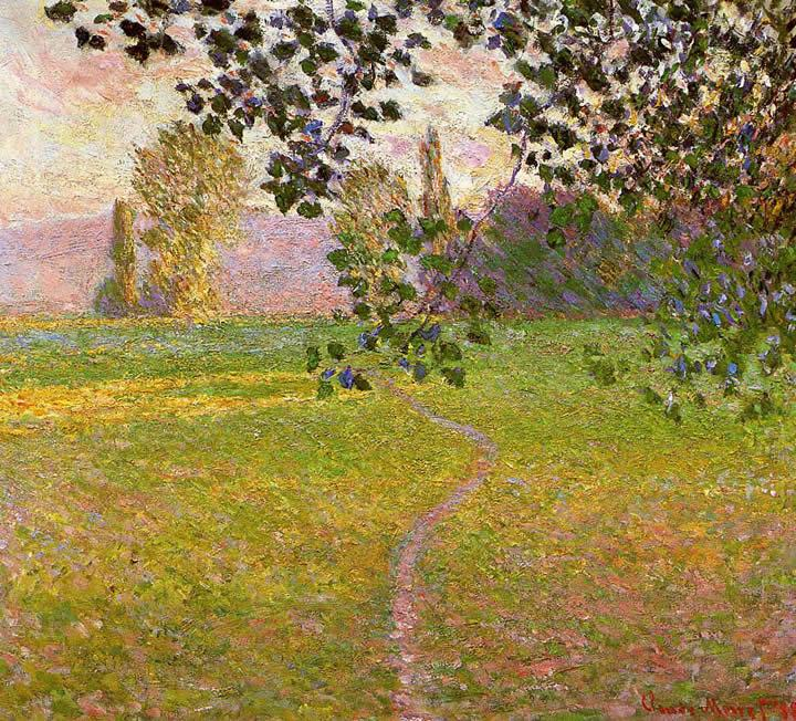 Claude Monet Morning Landscape Giverny