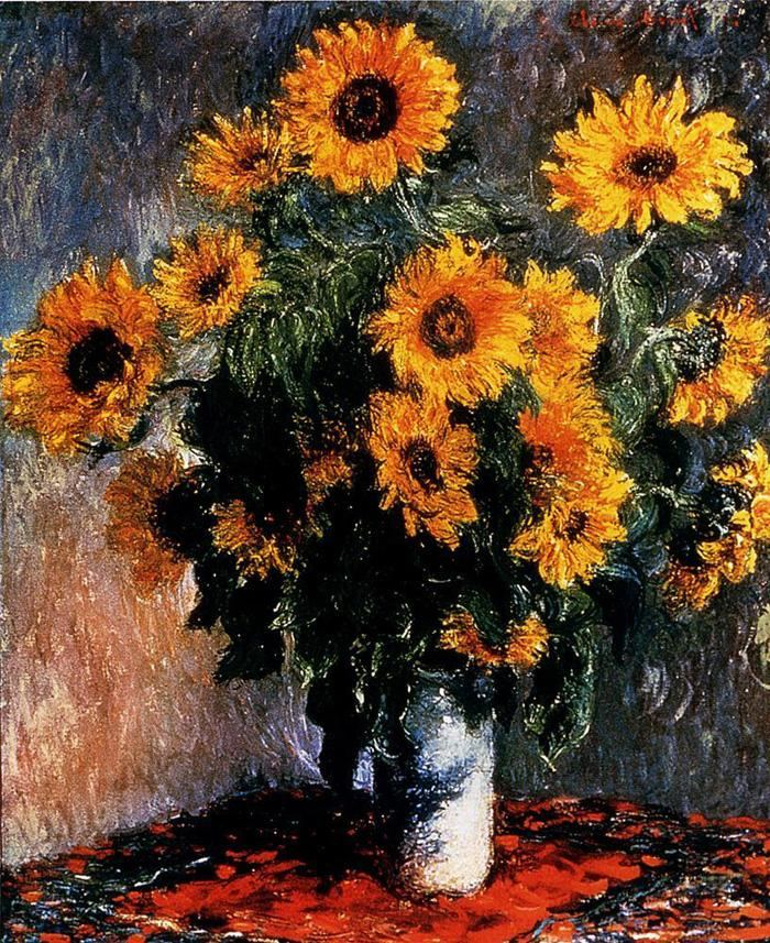 famous flowers paintings