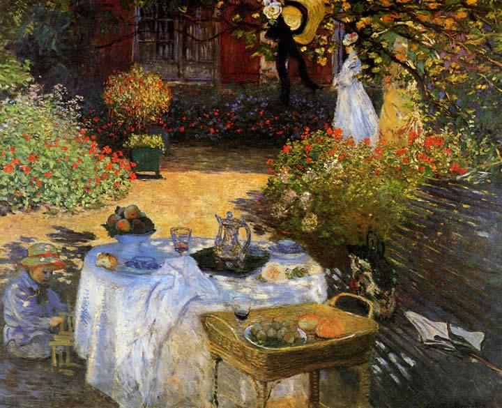 Claude Monet The Afternoon Meal
