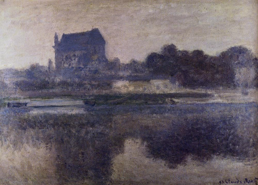 Claude Monet The Church Of Vernon In The Mist