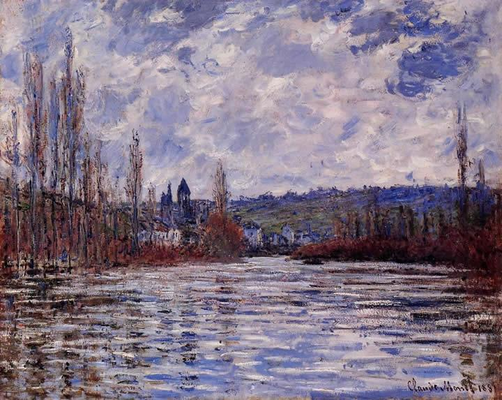 Claude Monet The Flood of the Seine at Vetheuil