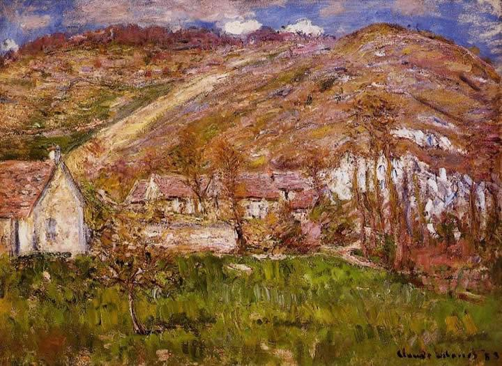 Claude Monet The Hamlet of Falaise near Giverny