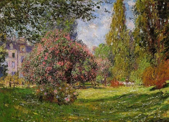 Claude Monet The Parc Monceau Paris 1