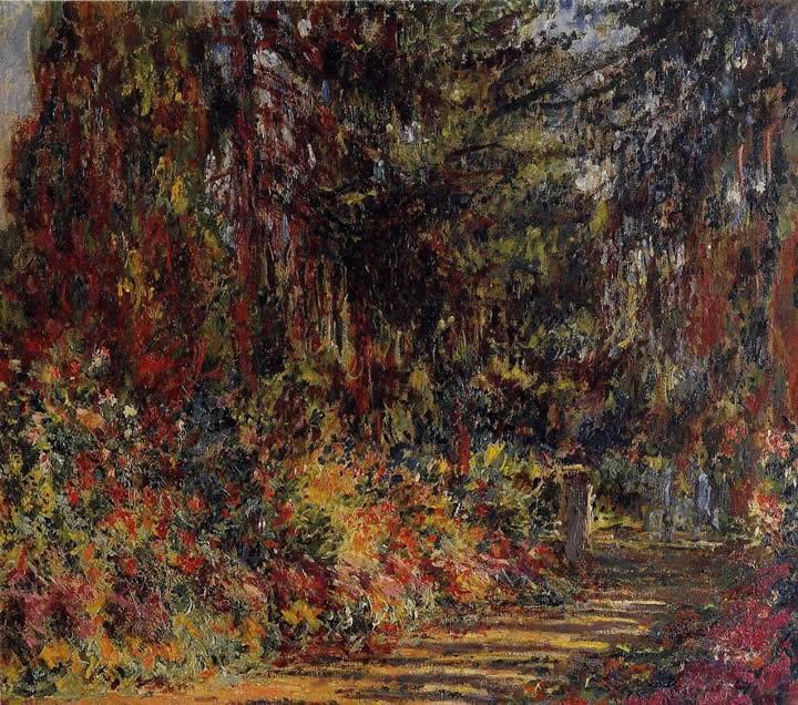 Claude Monet The Path at Giverny