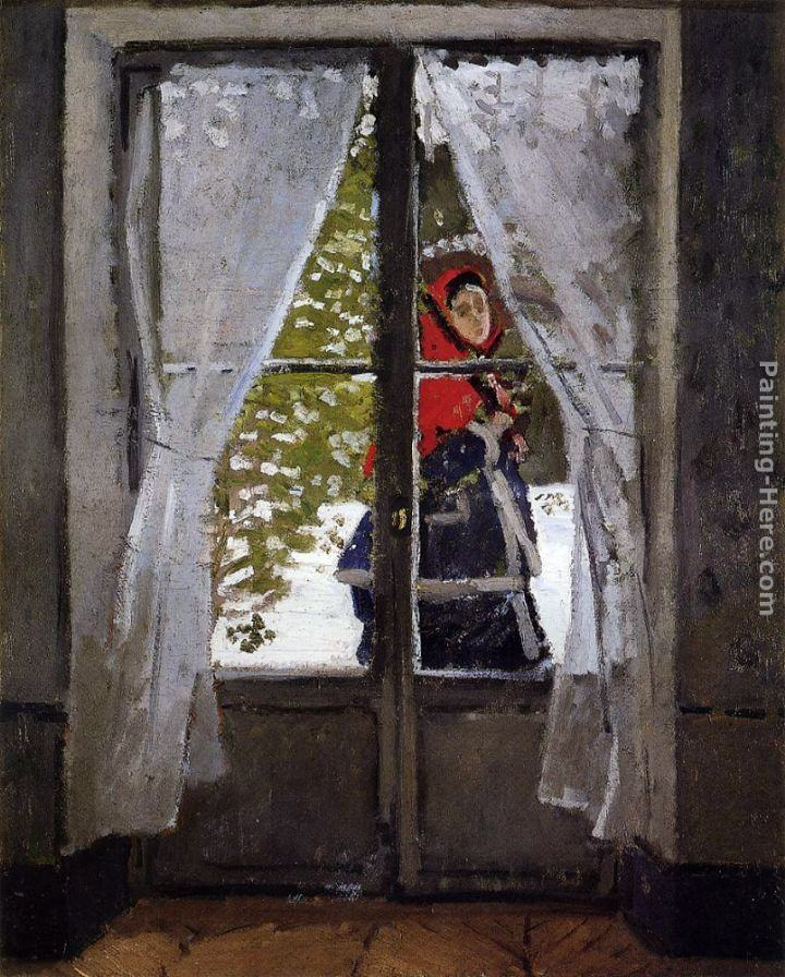 Claude Monet The Red Cape