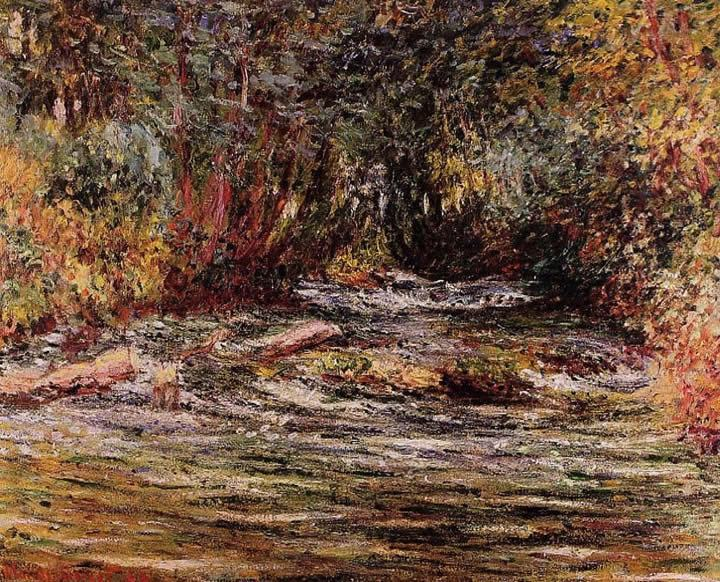 Claude Monet The River Epte at Giverny