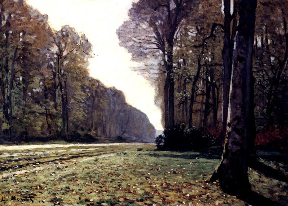 Claude Monet The Road To Chailly