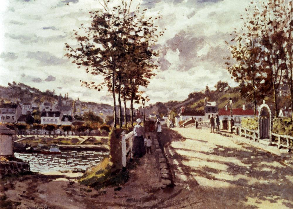Claude Monet The Seine At Bougival