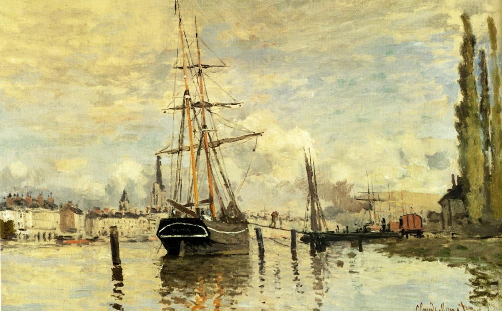 Claude Monet The Seine At Rouen