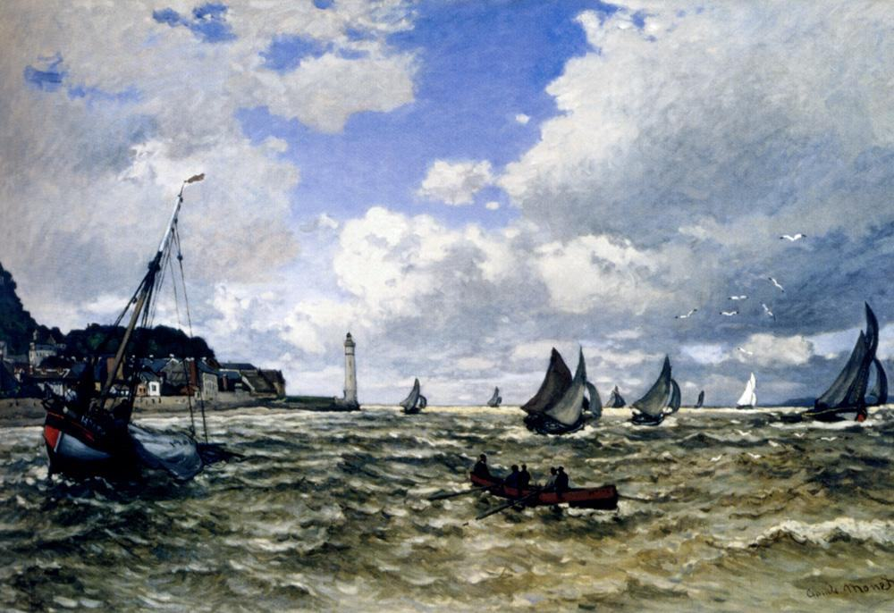 Claude Monet The Seine Estuary At Honfleur
