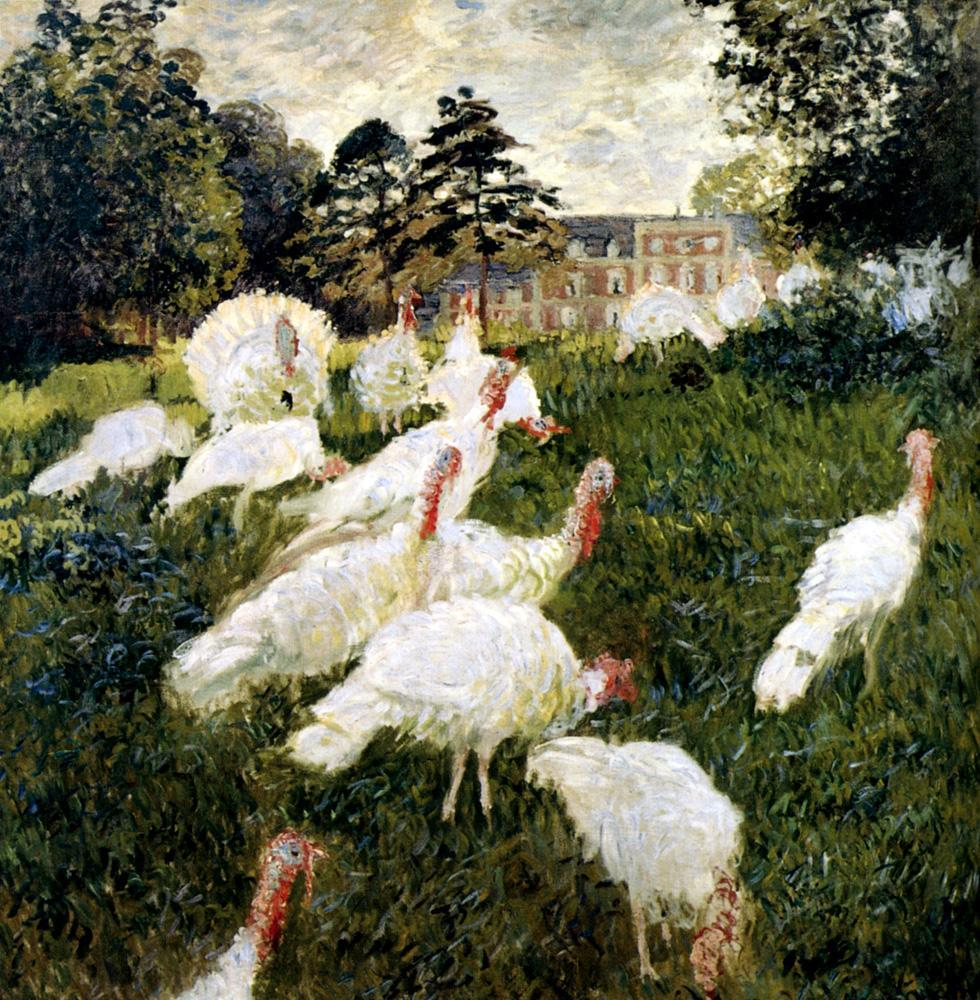 Claude Monet The Turkeys