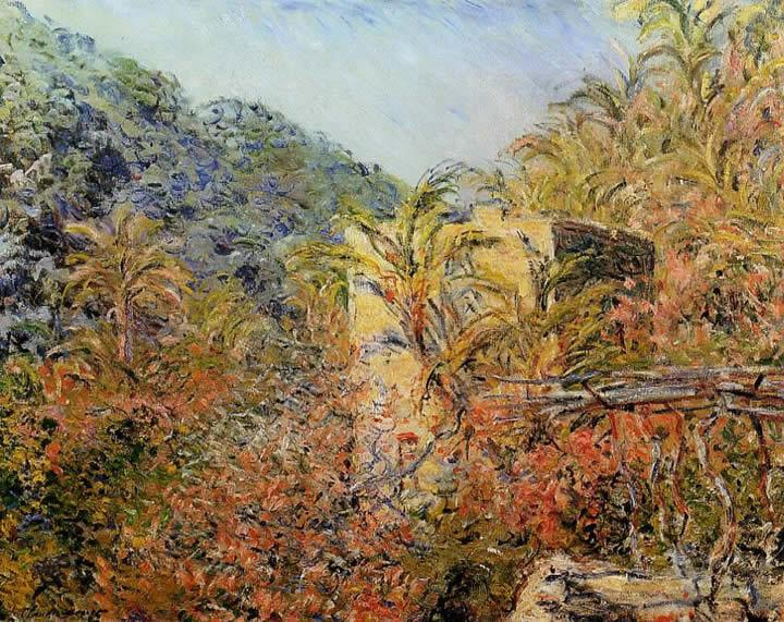 Claude Monet The Valley of Sasso Sunshine